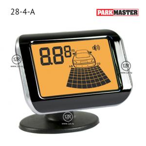 Парктроник ParkMaster 28-4-A (черные датчики)
